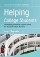 Helping College Students: Developing Essential Support Skills for Student Affairs Practice (0787986453) cover image