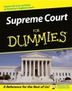 Supreme Court For Dummies  (1118068653) cover image