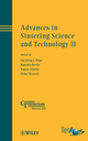 Advances in Sintering Science and Technology II (1118273753) cover image
