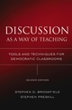 Discussion as a Way of Teaching: Tools and Techniques for Democratic Classrooms, 2nd Edition (1118429753) cover image
