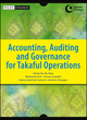 Accounting, Auditing and Governance for Takaful Operations (1118503953) cover image