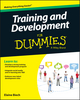 Training and Development For Dummies (1119076153) cover image