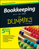 Bookkeeping All-In-One For Dummies (1119093953) cover image