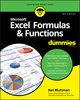 Excel Formulas & Functions For Dummies, 5th Edition (1119518253) cover image