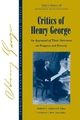 Critics of Henry George: An Appraisal of Their Strictures on Progress and Poverty, Volume 1 (1405118253) cover image