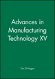 Advances in Manufacturing Technology XV (1860583253) cover image