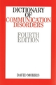 Dictionary of Communication Disorders, 4th Edition (1861562853) cover image