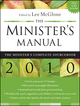 The Minister's Manual, 2010 Edition (0470441054) cover image