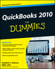 QuickBooks 2010 For Dummies (0470505354) cover image