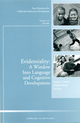 Evidentiality: A Window into Language and Cognitive Development: New Directions for Child and Adolescent Development, Number 125 (0470569654) cover image