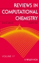 Reviews in Computational Chemistry, Volume 17 (0471398454) cover image