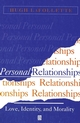 Personal Relationships: Love, Identity, and Morality (0631196854) cover image