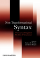Non-Transformational Syntax: Formal and Explicit Models of Grammar (0631209654) cover image