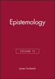 Epistemology, Volume 13 (0631218254) cover image
