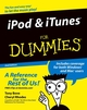 iPod� & �iTunes For Dummies, 2nd Edition (0764583654) cover image