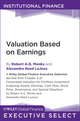 Valuation Based on Earnings (1118026454) cover image