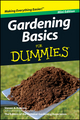 Gardening Basics For Dummies, Mini Edition (1118042654) cover image