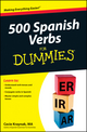 500 Spanish Verbs For Dummies (1118236254) cover image