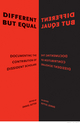Different but Equal: Documenting the Contribution of Dissident Scholars (1118542754) cover image