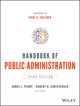 Handbook of Public Administration, 3rd Edition (1118775554) cover image
