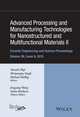 Advanced Processing and Manufacturing Technologies for Nanostructured and Multifunctional Materials II: CESP Volume 35 Issue 6 (1119211654) cover image
