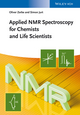 Applied NMR Spectroscopy for Chemists and Life Scientists (3527327754) cover image