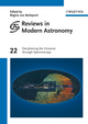Reviews in Modern Astronomy, Volume 22, Deciphering the Universe through Spectroscopy (3527410554) cover image
