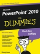 PowerPoint 2010 für Dummies (3527638954) cover image