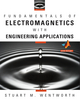 Fundamentals of Electromagnetics with Engineering Applications (0470105755) cover image