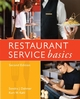Restaurant Service Basics, 2nd Edition (0470107855) cover image