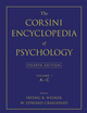 The Corsini Encyclopedia of Psychology, Volume 1, 4th Edition (0470170255) cover image