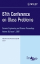 67th Conference on Glass Problems: Ceramic Engineering and Science Proceedings, Volume 28, Issue 1 (0470190655) cover image