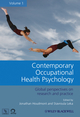 Contemporary Occupational Health Psychology: Global Perspectives on Research and Practice, Volume 1 (0470682655) cover image