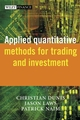 Applied Quantitative Methods for Trading and Investment (0470848855) cover image