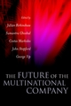 The Future of the Multinational Company (0470850655) cover image