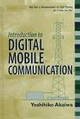 Introduction to Digital Mobile Communication (0471175455) cover image