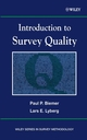Introduction to Survey Quality (0471193755) cover image