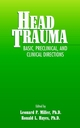 Head Trauma: Basic, Preclinical, and Clinical Directions (0471360155) cover image