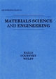 Introduction to Materials Science and Engineering (0471706655) cover image