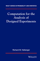 Computation for the Analysis of Designed Experiments (0471827355) cover image