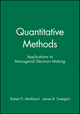 Quantitative Methods: Applications to Managerial Decision Making (0471878855) cover image