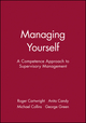 Managing Yourself: A Competence Approach to Supervisory Management (0631209255) cover image