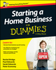 Starting a Home Business For Dummies  (1118737555) cover image