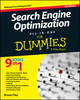 Search Engine Optimization All-in-One For Dummies, 3rd Edition (1118921755) cover image