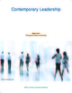 Contemporary Leadership Thompson Rivers University: Contemporary Leadership BBUS 3671 (1119264855) cover image