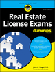 Real Estate License Exams For Dummies, with 4 Practice Tests, 3rd Edition (1119370655) cover image