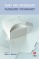 Paper and Paperboard Packaging Technology (1405168455) cover image