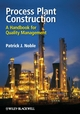 Process Plant Construction: A Handbook for Quality Management (1405187255) cover image