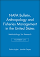 Anthropology and Fisheries Management in the United States: Methodology for Research (1931303355) cover image