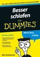 Besser schlafen für Dummies (3527642455) cover image